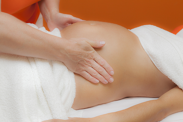 Vibrating the spine muscles to rejuvenate and flow the blood circulation & nervous system